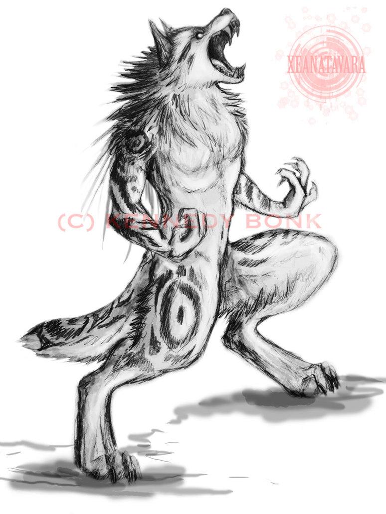 Drawn wolfman pencil drawing Werewolf In Pencil pencil in