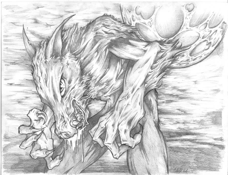 Drawn wolfman pencil drawing In pencil Cool photo#2 Drawings