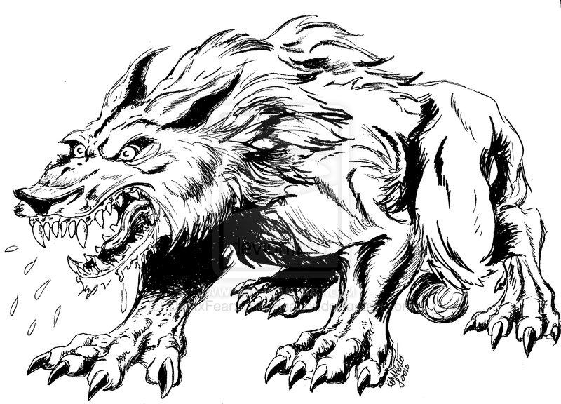 Drawn wolfman powerful Werewolf Search drawings Google Search