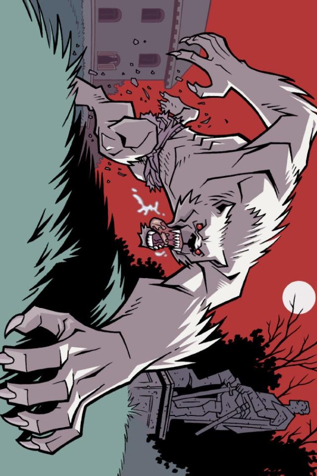 Drawn wolfman powerful Pinterest Wolfman comics animals Comic