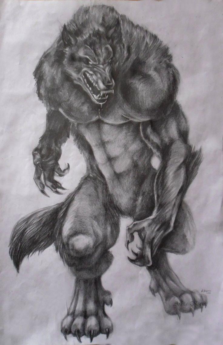 Drawn wolfman rage Pinterest Werewolves werewolves 735 and