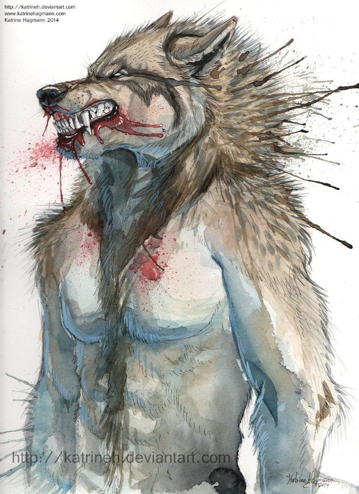 Drawn wolfman rage Werewolf about  Rage best