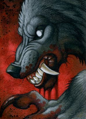 Drawn wolfman rage Best The Drawings Werewolf in