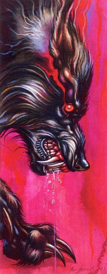 Drawn wolfman rage Best WOLFMAN this Lobisomem) on