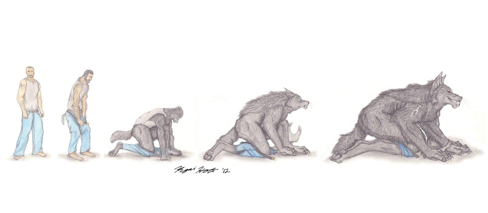 Drawn wolfman rage 24 Kigai Holt Wolf Sequence