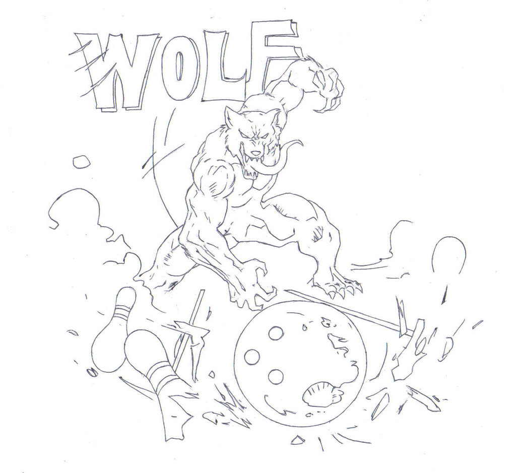 Drawn wolfman real life 150dpi) 150dpi) by drawing (Inked