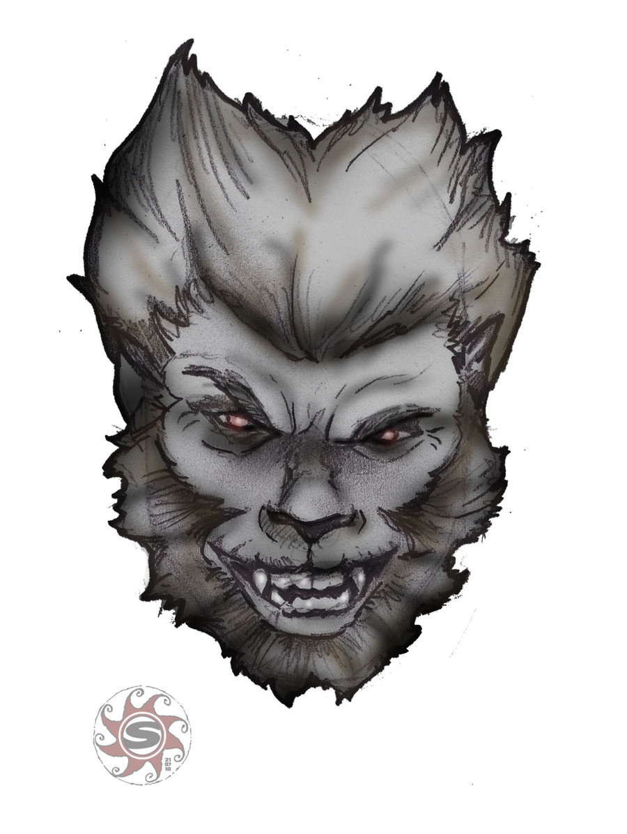 Drawn wolfman real life Wolfman sketch 01 DeviantArt sirkuss