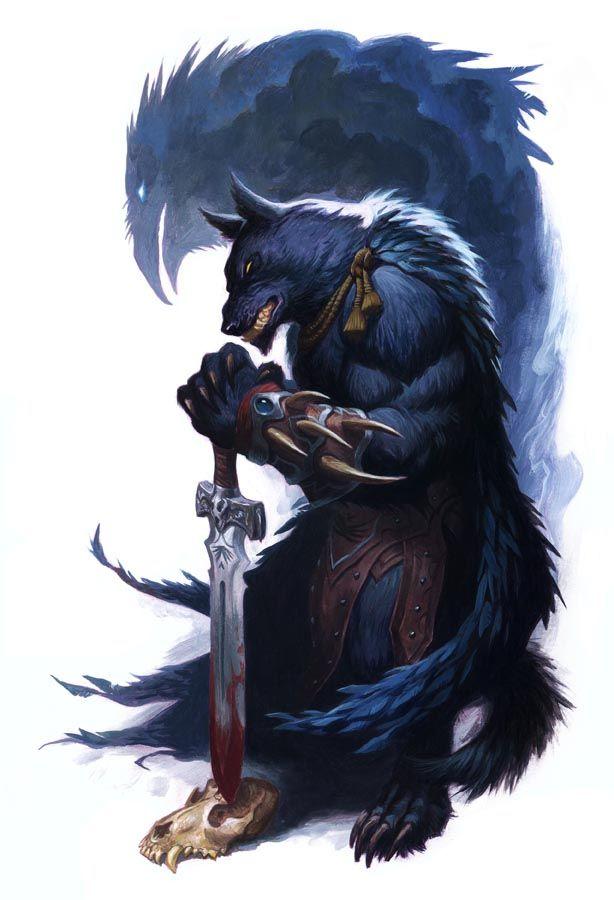 Drawn wolfman rpg On Werewolf this Werewolf Fantasy