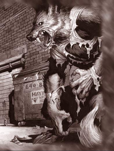 Drawn wolfman rpg Horror the RPG Best Werewolf