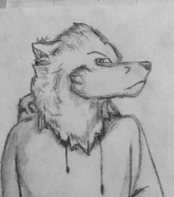 Drawn wolfman sketch Made Draw to 4 Recently
