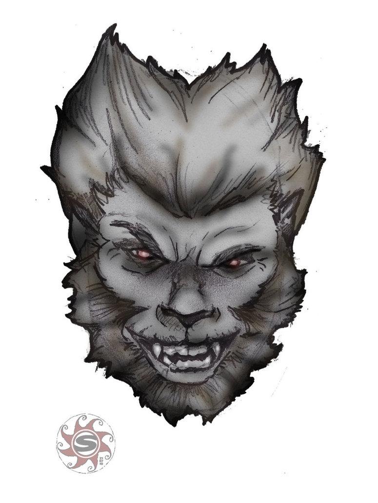 Drawn wolfman sketch Wolfman Wolfman sirkuss DeviantArt sirkuss