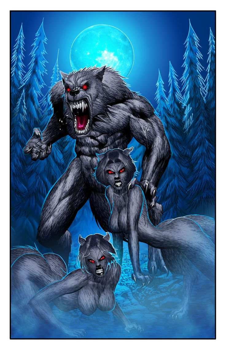 Drawn wolfman strong Wolf Although Modern 116 of