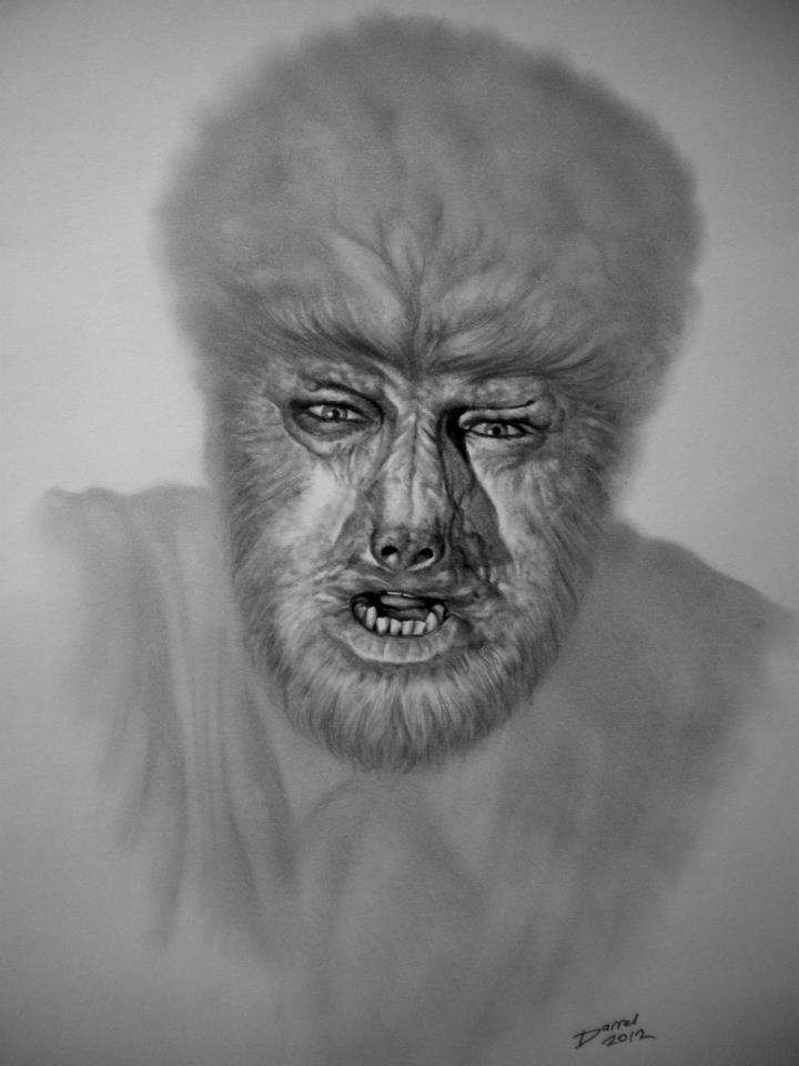 Drawn wolfman strong Lon Jr 56 The Man