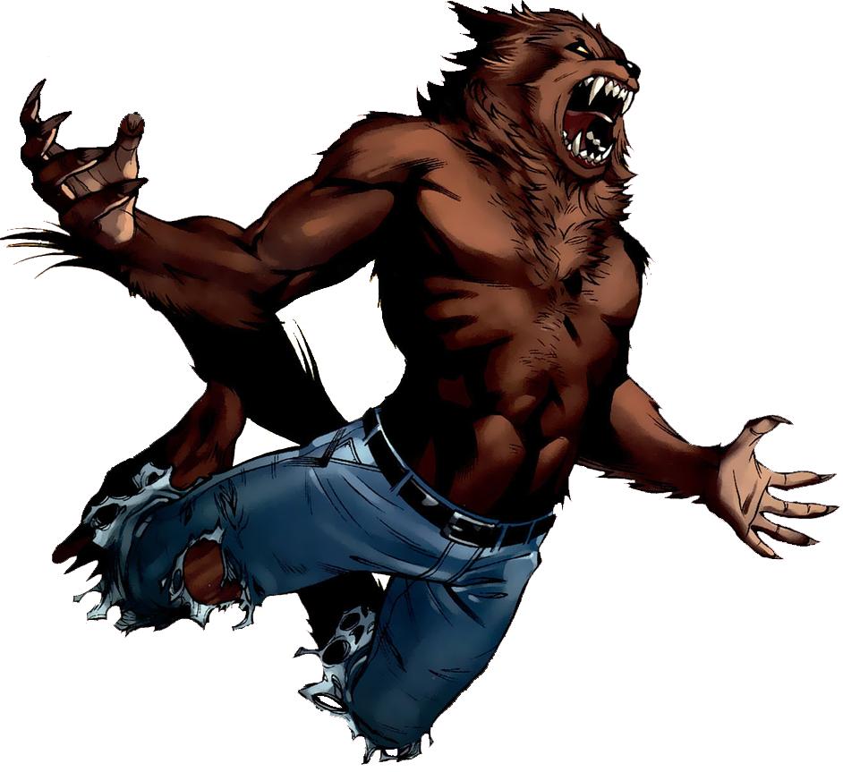 Drawn wolfman transparent Werewolf Wikia FANDOM by Werewolves
