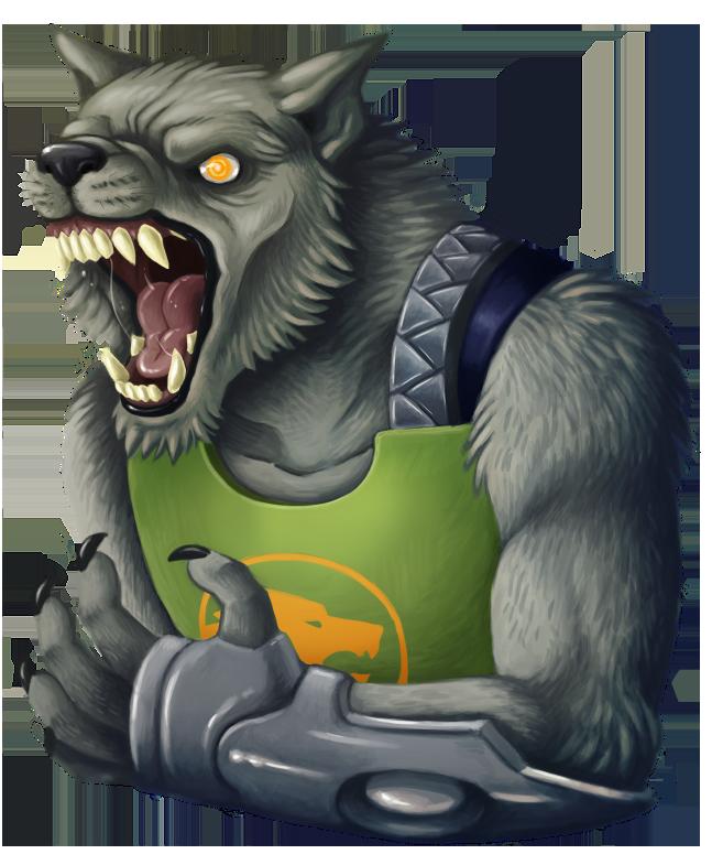 Drawn wolfman transparent Astounding MacGreen DeviantArt bust on