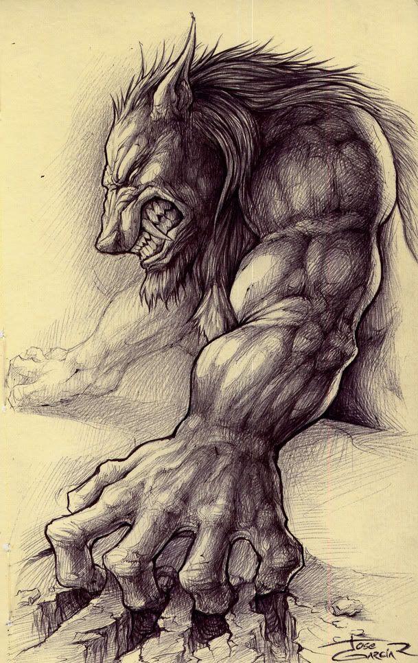 Drawn wolfman west virginia On Pin on Gaia Gaia