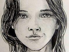Drawn woman realistic #13