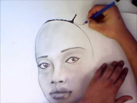 Drawn women african Speed of Woman African of
