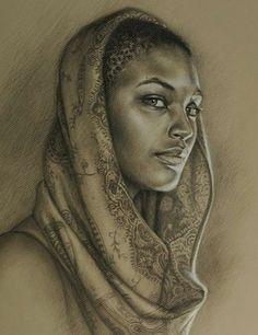 Drawn women african Pinterest Ontario  black american