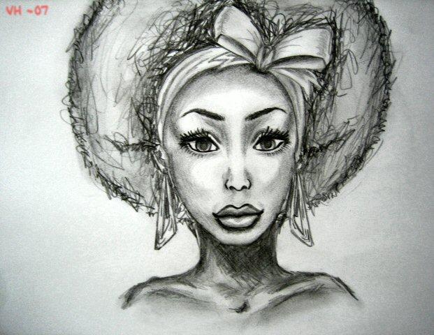 Drawn women african @DeviantArt com African @DeviantArt deviantart