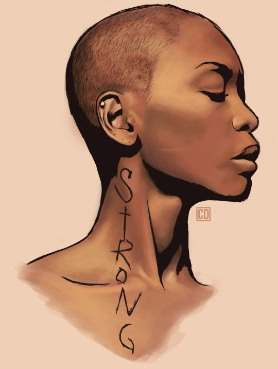 Drawn women african Women might I You that