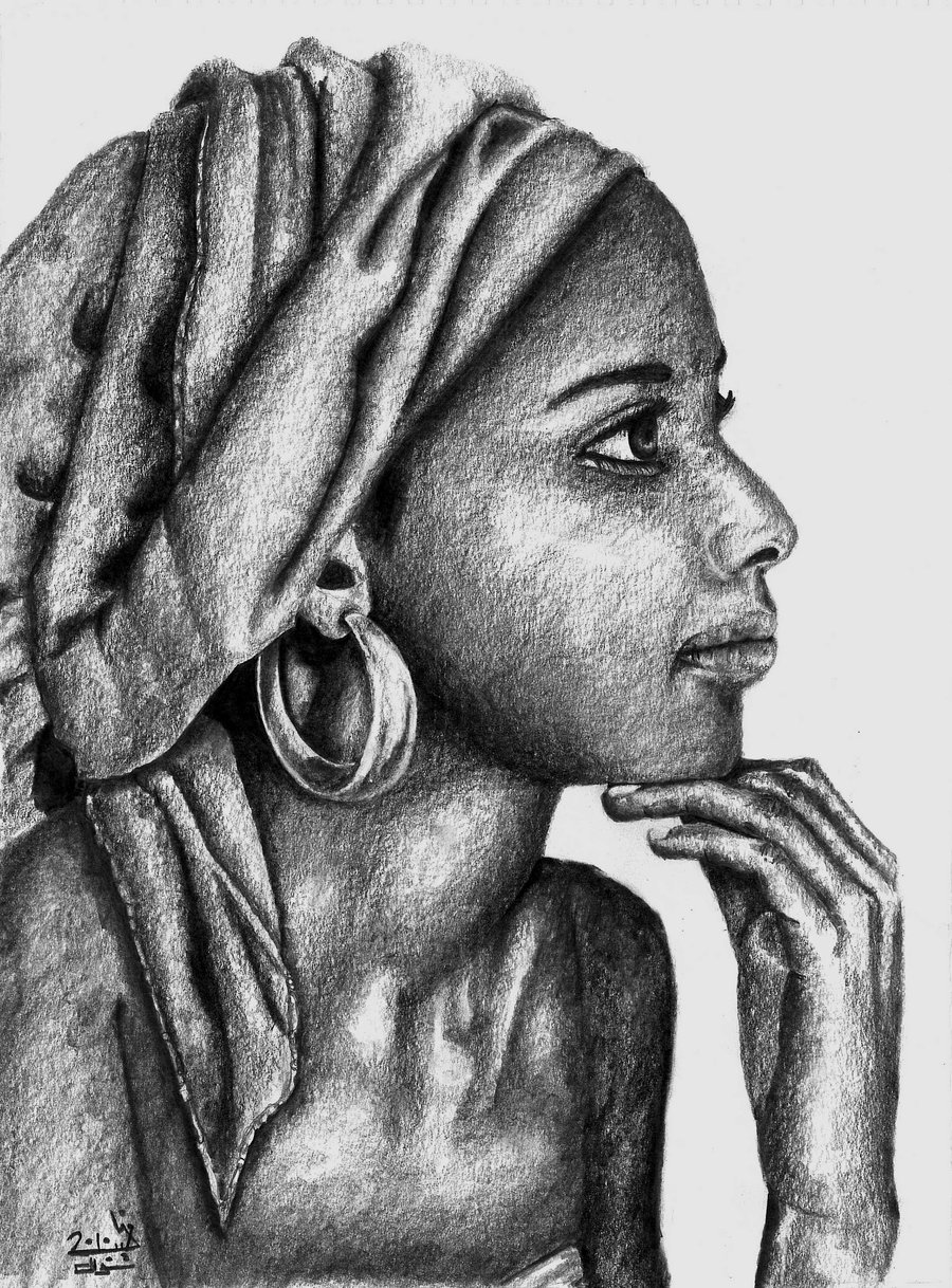 Drawn women african  Women Resilience African Resilience