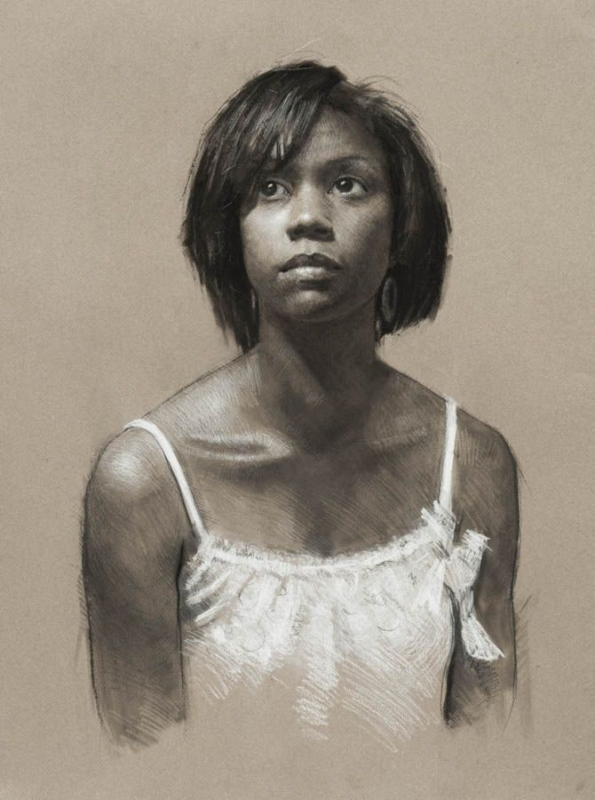 Drawn women african american Pinterest head // African images