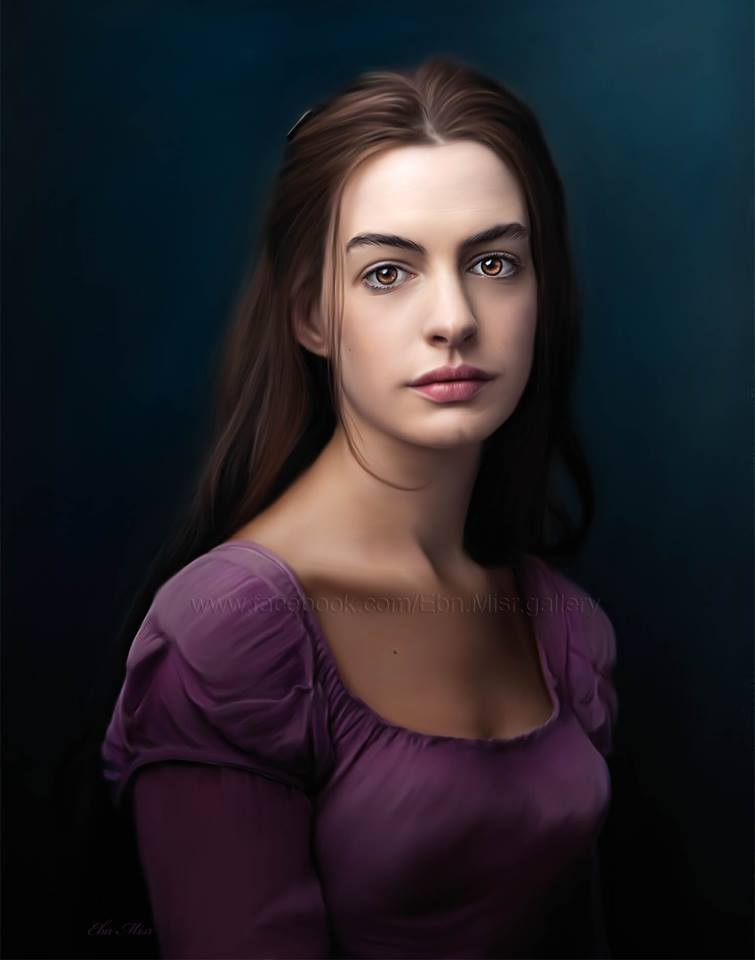 Drawn women anne hathaway Hathaway This Misr NOT is