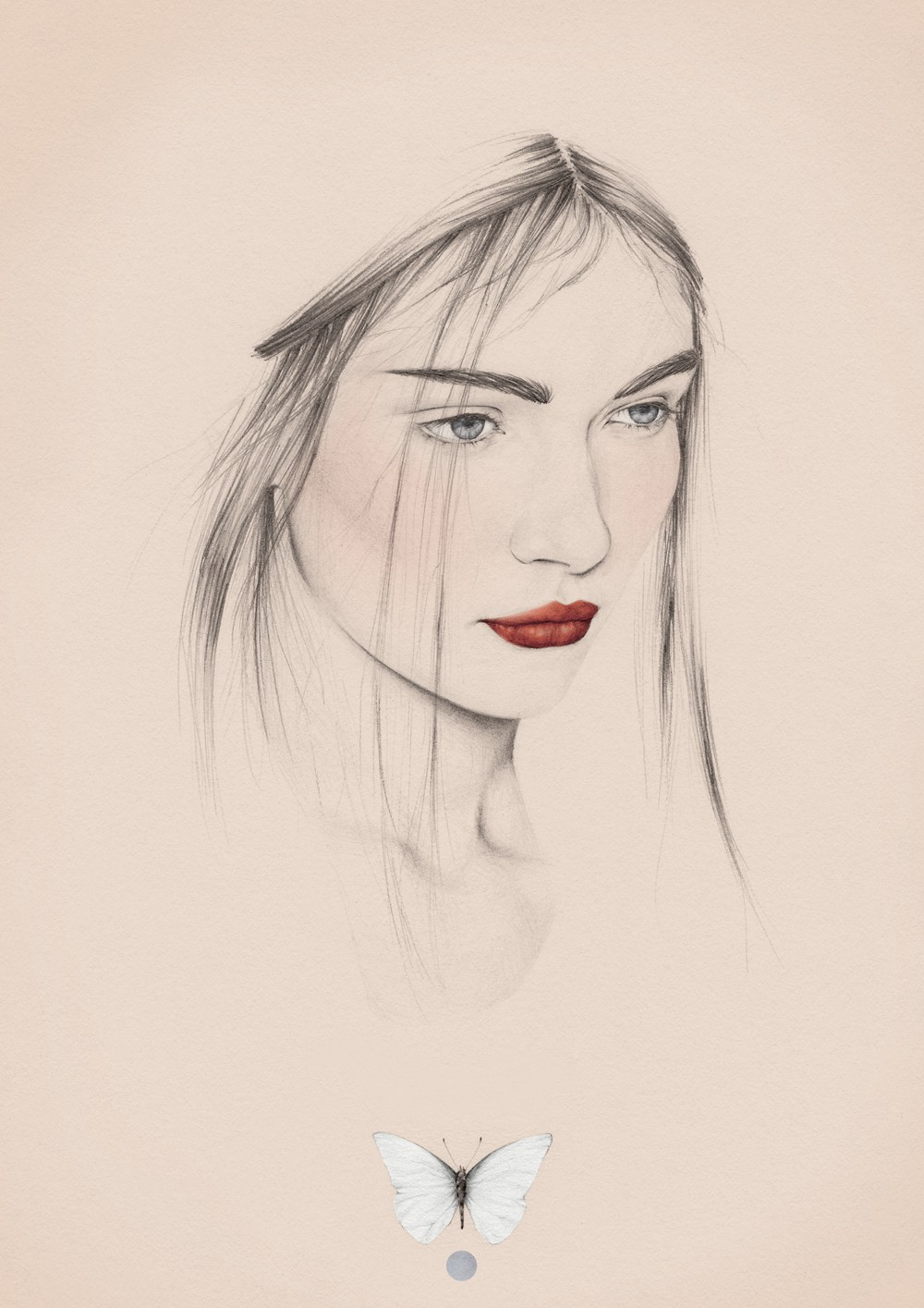 Drawn women australian Drawing Illustrator photoshop: pencil digital