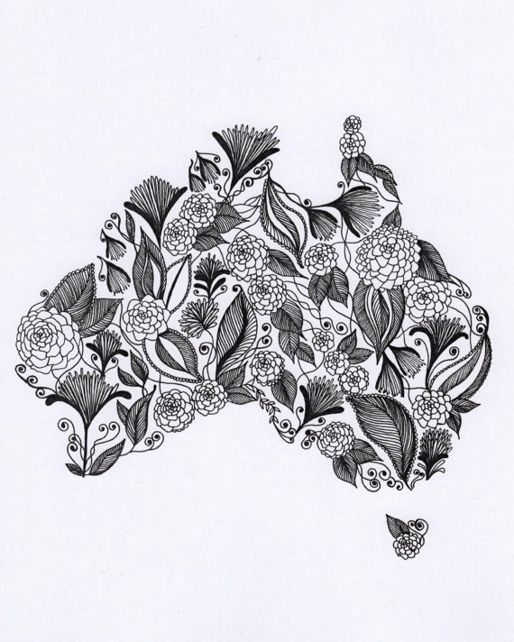 Drawn women australian Pinterest 00 ideas ArtbyTheLittleLeaf tattoo