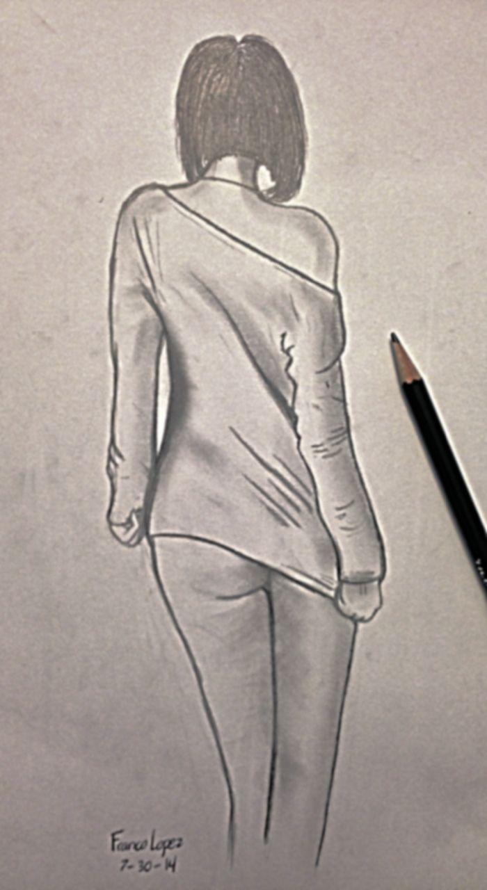 Drawn women back body part Woman Draws Buscar woman Pinterest