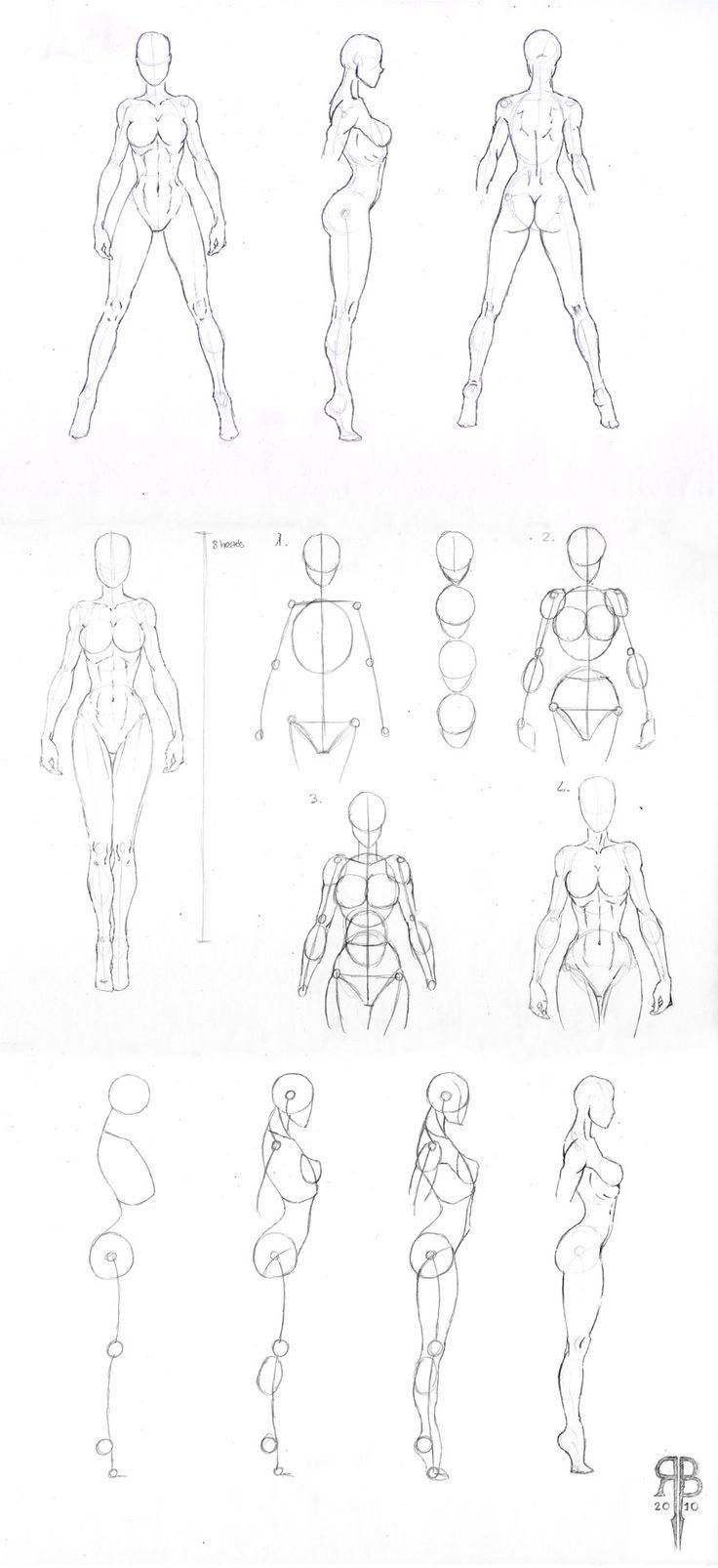 Drawn women beautiful woman body 25+ ideas female deviantART by