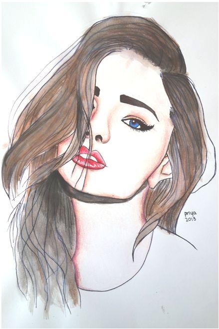 Drawn cute girlfriend tumblr  Pinterest drawing Best 25+