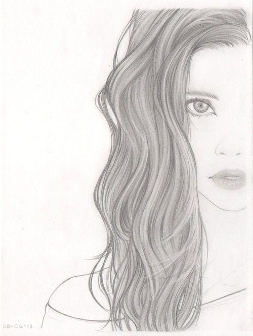 Drawn women beautifully ღThe Woman 25+ Best http://www