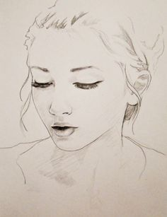 Drawn portrait simple Ideas for look beginners Makes