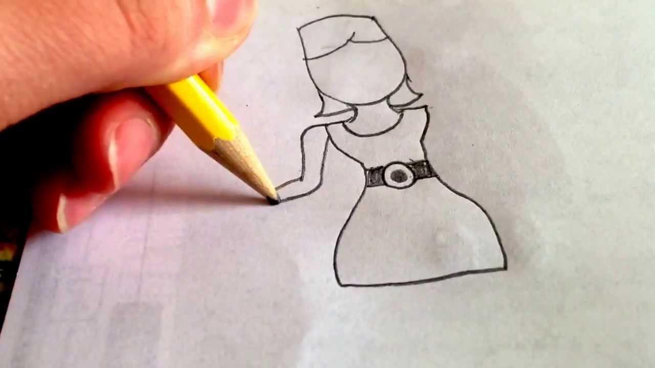 Drawn women beginner  YouTube a (for girl