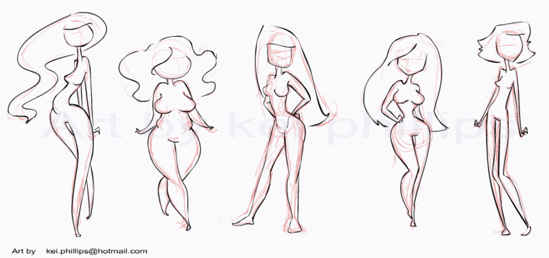 Drawn photos body Com by on body ·