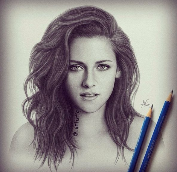 Drawn women celebrity On Works Drawing drawings 20+