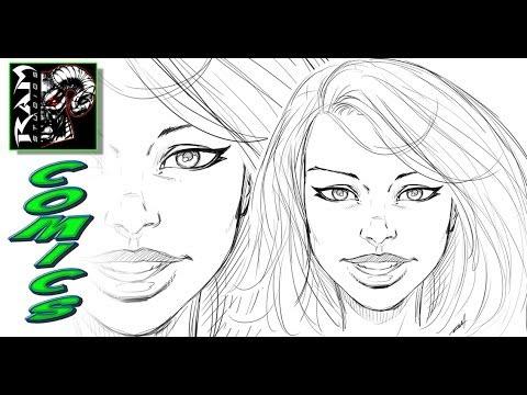 Drawn women comic character Comics to Draw Draw YouTube
