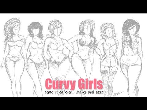 Drawn women curvy woman To How Curvy How [Othomanx]