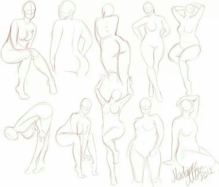 Drawn women curvy woman Pinterest Inspiration Inspiration or How
