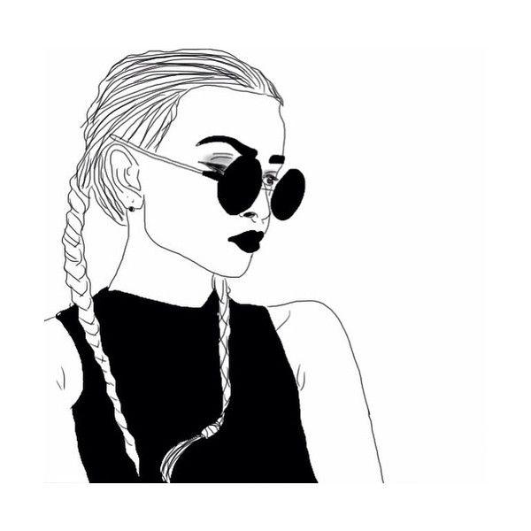 Drawn profile headphone Featuring Pinterest Watercolors doodle drawings