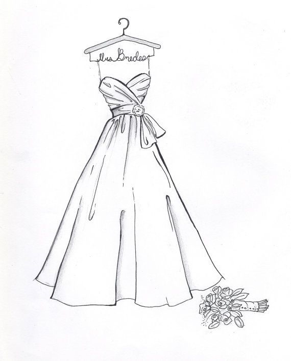 Drawn women dress drawing Dress on Pinterest Best Custom