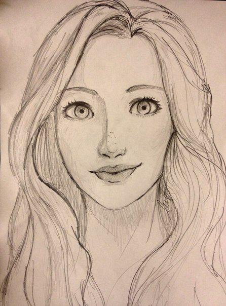 Drawn women face 25+ drawing ideas Faces Animal