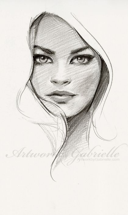 Drawn portrait best face On Best to ideas Face