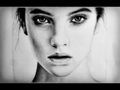 Drawn women face Face Female Drawing Pinterest a