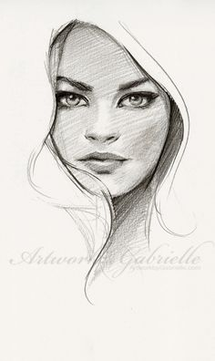 Drawn women face art To Draw Face this