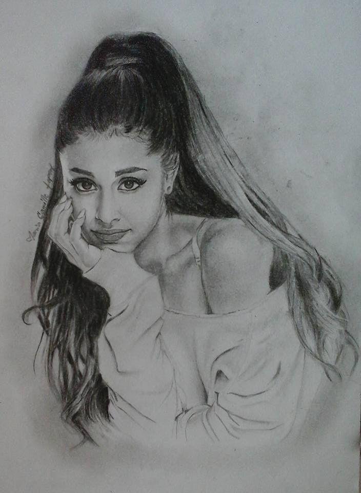 Drawn celebrity black and white #1