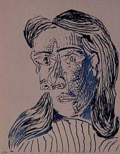 Drawn women female bust Maar) Pablo Pablo Portraits bust