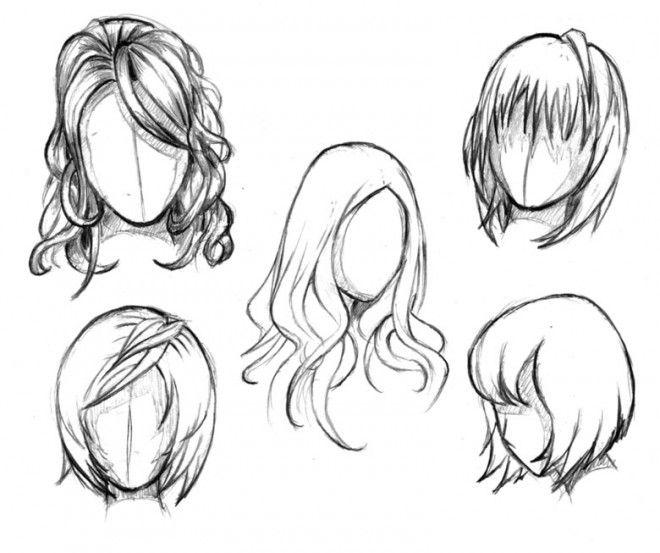 Drawn women female character Best Manga 25+ ideas HairstylesDrawing